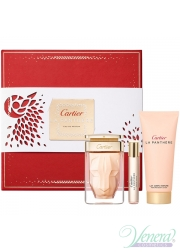 Cartier La Panthere Set (EDP 75ml + EDP 9ml + BL 100ml) για γυναίκες Γυναικεία σετ