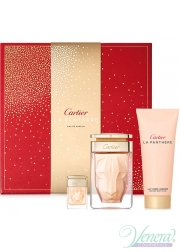 Cartier La Panthere Set (EDP 75ml + EDP 6ml + BL 100ml) για γυναίκες