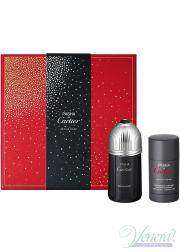 Cartier Pasha de Cartier Edition Noire Set (EDT 100ml + Deo Stick 75ml) για άνδρες Ανδρικά Σετ