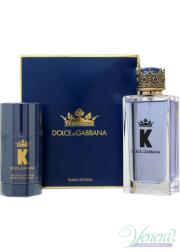 Dolce&Gabbana K by Dolce&Gabbana Set (EDT 100ml + Deo Stick 75ml) για άνδρες