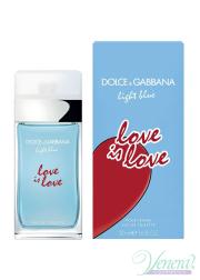 Dolce&Gabbana Light Blue Love Is Love Pour Femme EDT 50ml για γυναίκες Γυναικεία Аρώματα