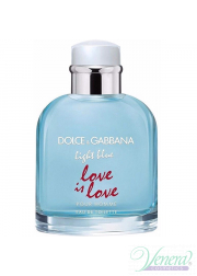 Dolce&Gabbana Light Blue Love Is Love Pour Homme EDT 125ml για άνδρες ασυσκεύαστo Ανδρικά Аρώματα χωρίς συσκευασία