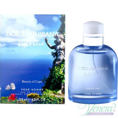 Dolce&Gabbana Light Blue Beauty of Capri EDT 125ml για άνδρες