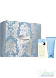 Dolce&Gabbana Light Blue Set (EDT 25ml + Body Cream 50ml) για γυναίκες Γυναικεία σετ