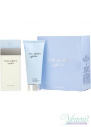 Dolce&Gabbana Light Blue Set (EDT 100ml + Body Cream 100ml) για γυναίκες