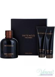 Dolce&Gabbana Pour Homme Intenso Set (EDP 125ml + AS Balm 50ml +SG 50ml) για άνδρες Ανδρικά  Σετ