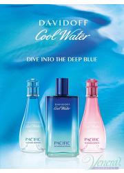 Davidoff Cool Water Pacific Summer Edition EDT 100ml για γυναίκες ασυσκεύαστo Ανδρικά Αρώματα χωρίς συσκευασία