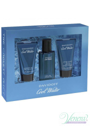 Davidoff Cool Water Set (EDT 40ml + AS Balm 50ml + SG 50ml) για άνδρες Men's Gift sets