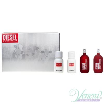 Diesel Deluxe Collection Set (Zero Plus Feminine 30ml + Zero Plus Masculine 30ml + Plus Plus Feminine 30ml + Plus Plus Masculine 30ml) για άνδρες και Γυναικες