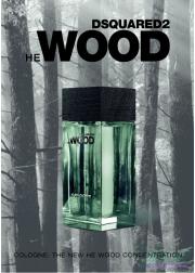 Dsquared2 He Wood Cologne EDC 75ml για άνδρες