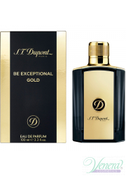S.T. Dupont Be Exceptional Gold EDP 50ml για άνδρες Ανδρικά Αρώματα