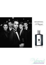 S.T. Dupont Be Exceptional EDT 50ml για άνδρες Ανδρικά Αρώματα