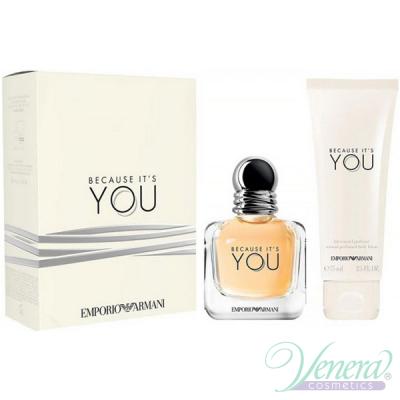 Emporio Armani Because It's You Set (EDP 50ml + BL 75ml) για γυναίκες Γυναικεία Σετ