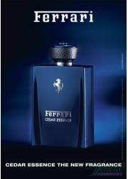 Ferrari Cedar Essence EDP 100ml για άνδρες ασυσκεύαστo Men's Fragrances without package