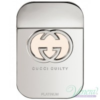 Gucci Guilty Platinum EDT 75ml for Women Without Package Women's Fragrances without package