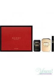 Gucci Guilty Set (EDT 75ml + EDT 7.5ml + BL 100ml) για γυναίκες Γυναικεία σετ