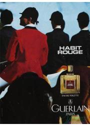 Guerlain Habit Rouge EDT 100ml για άνδρες Γυναικεία Аρώματα