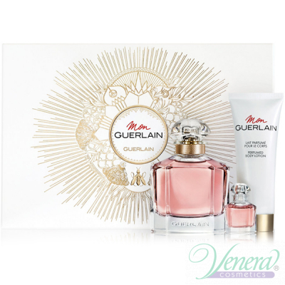 Guerlain Mon Guerlain Set (EDP 100ml + EDP 5ml + BL 75ml) για γυναίκες Women's Gift sets