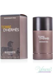 Hermes Terre D'Hermes Deo Stick 75ml για άνδρες Προϊόντα για Πρόσωπο και Σώμα