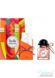 Hermes Twilly d'Hermes Set (EDP 50ml + Knotting Card + Silk Tie) για γυναίκες Γυναικεία Σετ