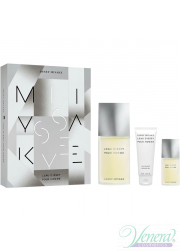Issey Miyake L'Eau D'Issey Pour Homme Set (EDT 125ml + EDT 15ml + SG 75ml) για άνδρες Αρσενικά Σετ
