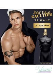 Jean Paul Gaultier Le Male Le Parfum Set (EDP 125ml + SG 75ml) για άνδρες Ανδρικά Σετ