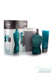 Jean Paul Gaultier Le Male Set (EDT 125ml + SG 100ml + Wallpaper City Guide) για άνδρες Men's Gift sets
