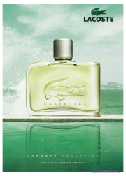 Lacoste Essential EDT 125ml για άνδρες ασυσκεύαστo Men's Fragrances without package