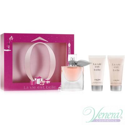 Lancome La Vie Est Belle Set (EDP 30ml + BL 50ml + SG 50ml) για γυναίκες Γυναικεία σετ