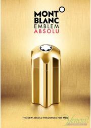 Mont Blanc Emblem Absolu EDT 100ml για άνδρες