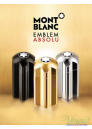 Mont Blanc Emblem Absolu EDT 100ml για άνδρες Ανδρικά Αρώματα