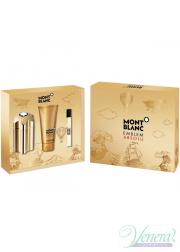 Mont Blanc Emblem Absolu Set (EDT 100ml  + EDT 7.5ml + SG 100ml) για άνδρες Ανδρικά Σετ