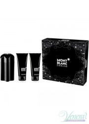 Mont Blanc Emblem Set (EDT 100ml + SG 100ml + AS Balm 100ml) για άνδρες Ανδρικά Σετ