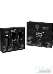 Mont Blanc Emblem Set (EDT 100ml + SG 100ml + AS Balm 100ml) για άνδρες Ανδρικά Σετ