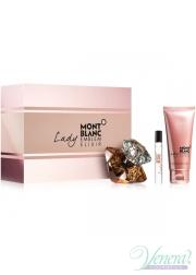 Mont Blanc Lady Emblem Elixir Set (EDP 75ml + EDP 7.5ml + BL 100ml) για γυναίκες Γυναικεία Σετ