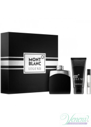 Mont Blanc Legend Set (EDT 100ml + AS Balm 100ml + EDT 7.5ml) για άνδρες Αρσενικά Σετ