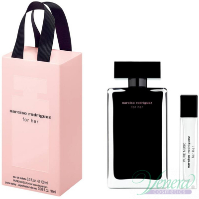 Narciso Rodriguez for Her Set (EDT 100ml + Pure Musc EDP 10ml) για γυναίκες