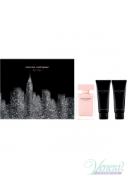 Narciso Rodriguez for Her Set (EDP 50ml + BL 75ml + SG 75ml) για γυναίκες Women's Gift sets