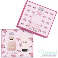 Nina Ricci Rose Extase Set (EDT 50ml + BL 75ml) for Women Women's Gift sets
