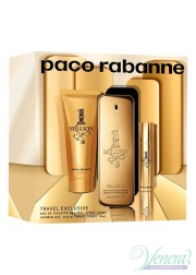 Paco Rabanne 1 Million Set (EDT 100ml + EDT 15ml + Shower Gel 100ml) για άνδρες Γυναικεία Σετ