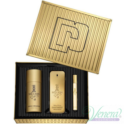 Paco Rabanne 1 Million Set (EDT 100ml + EDT 10ml + Deo Spray 150ml) για άνδρες