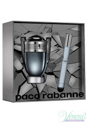 Paco Rabanne Invictus Intense Set (EDT 50ml + EDT 10ml) για άνδρες Ανδρικά σετ