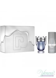 Paco Rabanne Invictus Set (EDT 100ml + Deo Spray 150ml) για άνδρες Men's Gift sets