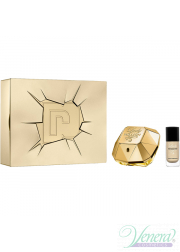Paco Rabanne Lady Million Set (EDP 50ml + Nail Polish 9ml) για γυναίκες Γυναικεία Σετ