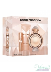Paco Rabanne Olympea Set (EDP 80ml + EDP 10ml + BL 100ml) for Women Women's Gift sets