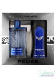 Police Cosmopolitan Set (EDT 100ml + SG 250ml) για άνδρες Ανδρικά Σετ