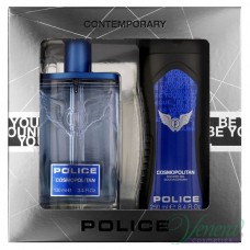 Police Cosmopolitan Set (EDT 100ml + SG 250ml) για άνδρες