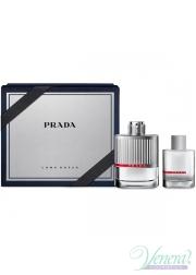 Prada Luna Rossa Set (EDT 100ml + EDT 30ml) για άνδρες Αρσενικά Σετ