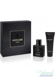 Roberto Cavalli Uomo Set (EDT 100ml + SG 75ml) για άνδρες Men's Gift sets