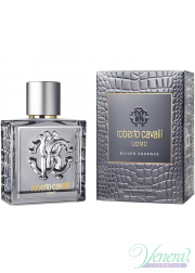 Roberto Cavalli Uomo Silver Essence EDT 100ml για άνδρες Men's Fragrance